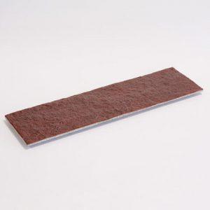 石のプレート「kasanehada」 赤茶