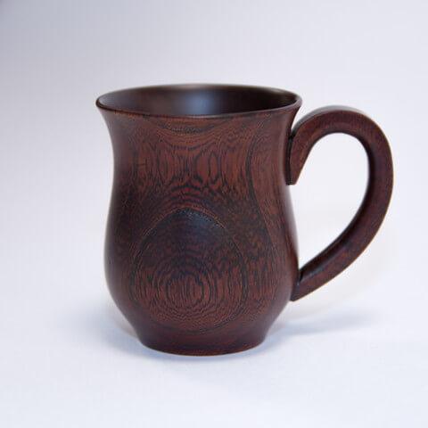 カップ(取手付) ケヤキデミタスカップ