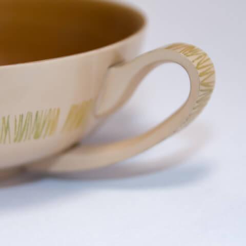 スープカップ グラスグリーン