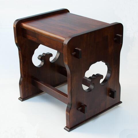 雑貨 民芸椅子 斜め