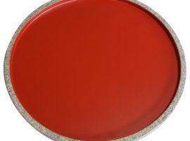 庵治漆 Zen plate(circle)