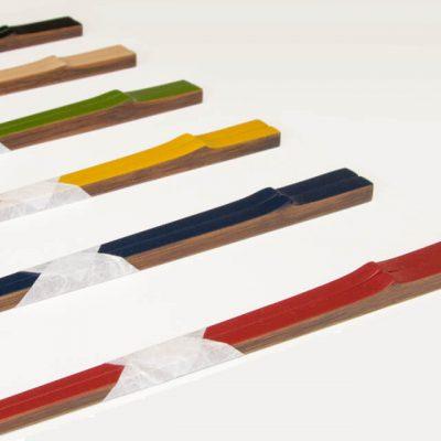 讃岐竹のお箸 色漆